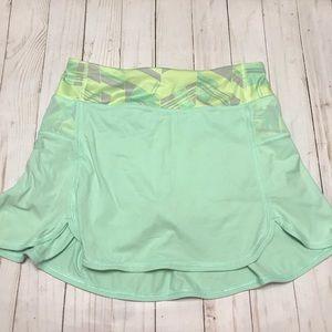 Lulu Ivivva Kick Serve Skirt Mint Green Size 12